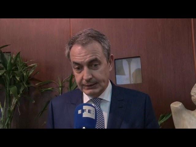 Declaraciones de José Luis Rodríguez Zapatero