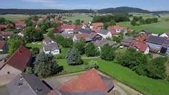 Waldeck von oben: Korbach - Ober-Ense, Nieder-Ense & Nordenbeck