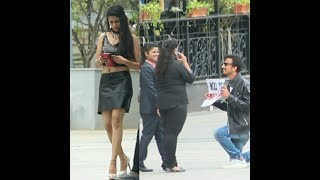 Funny marriage proposal Prank on Hot Girls went like this 😂