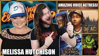 Melissa Hutchison (Clementine Voice) AWESOME Interview! | ETPodcast