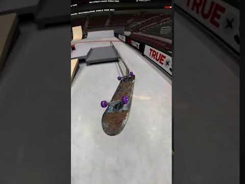 True Skate - 360 flip fs smith to Nollie flip bs feeble kickflip 360!