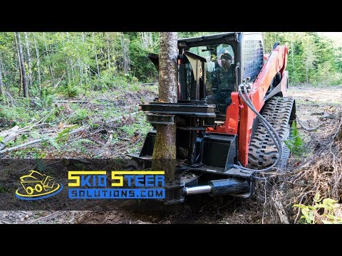 Dymax Timberwolf Tree Shear Overview + Demo | Skid Steer Solutions