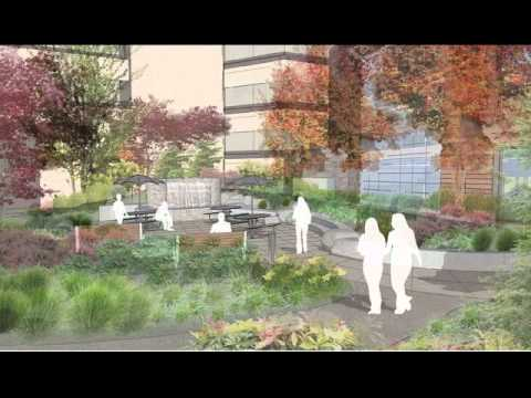Sacred Heart University District Architectural Renderings