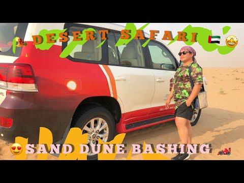 How To Survive and Enjoy the Dubai Sand Dune Bashing🏎🤩 Desert Safari 2019