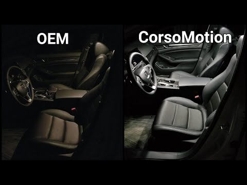 2018 2019 Honda Accord - Changing Interior Lights (CorsoMotion LED)