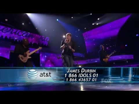 James Durbin - Don't Stop Believin' (1st Song) - Top 4 - American Idol 2011 - 05/11/11
