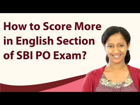How to Scoremore in English Language for SBI PO 2017 | TalentSprint