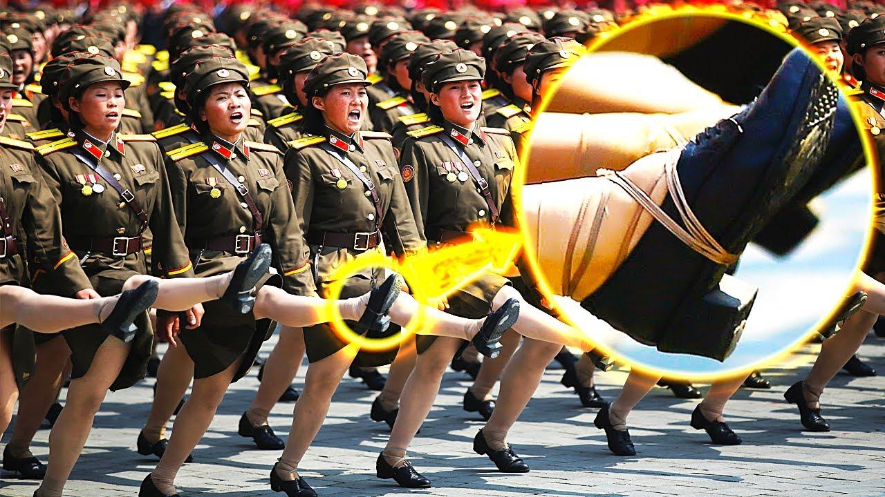 12 حقيقة صادمة و غير متوقعة عن جنود كوريا الشمالية الذي أرعب العالم !!