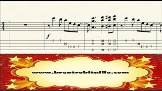 Bass tab - Jazz Arrangement - Don