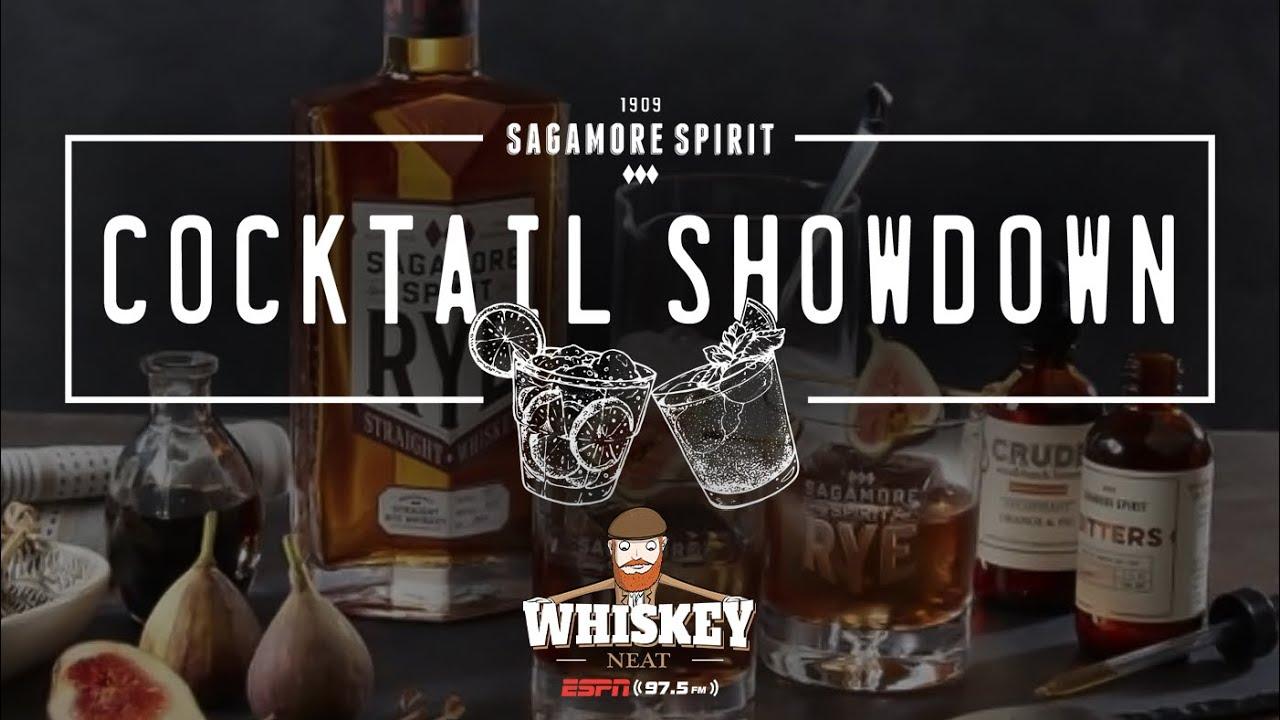 ESPN's Whiskey Neat Ep. 160 Sagamore Central Regional Cocktail Showdown
