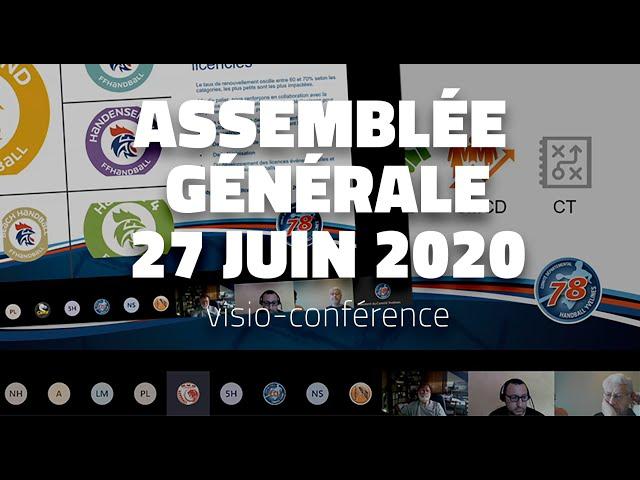 CDHBY - Assemblée Générale du 27/06/2020 en visio-conférence