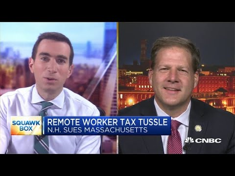 New Hampshire Governor On Remote Workers' Income Tax Dispute With Massachusetts