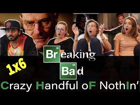 Breaking Bad - 1x6 Crazy Handful Of Nothin' - Group Reaction