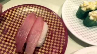 Sushi in TOKYO! Uobei Sushi :)