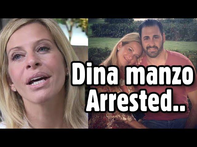 Star Dina Manzo arrested ?
