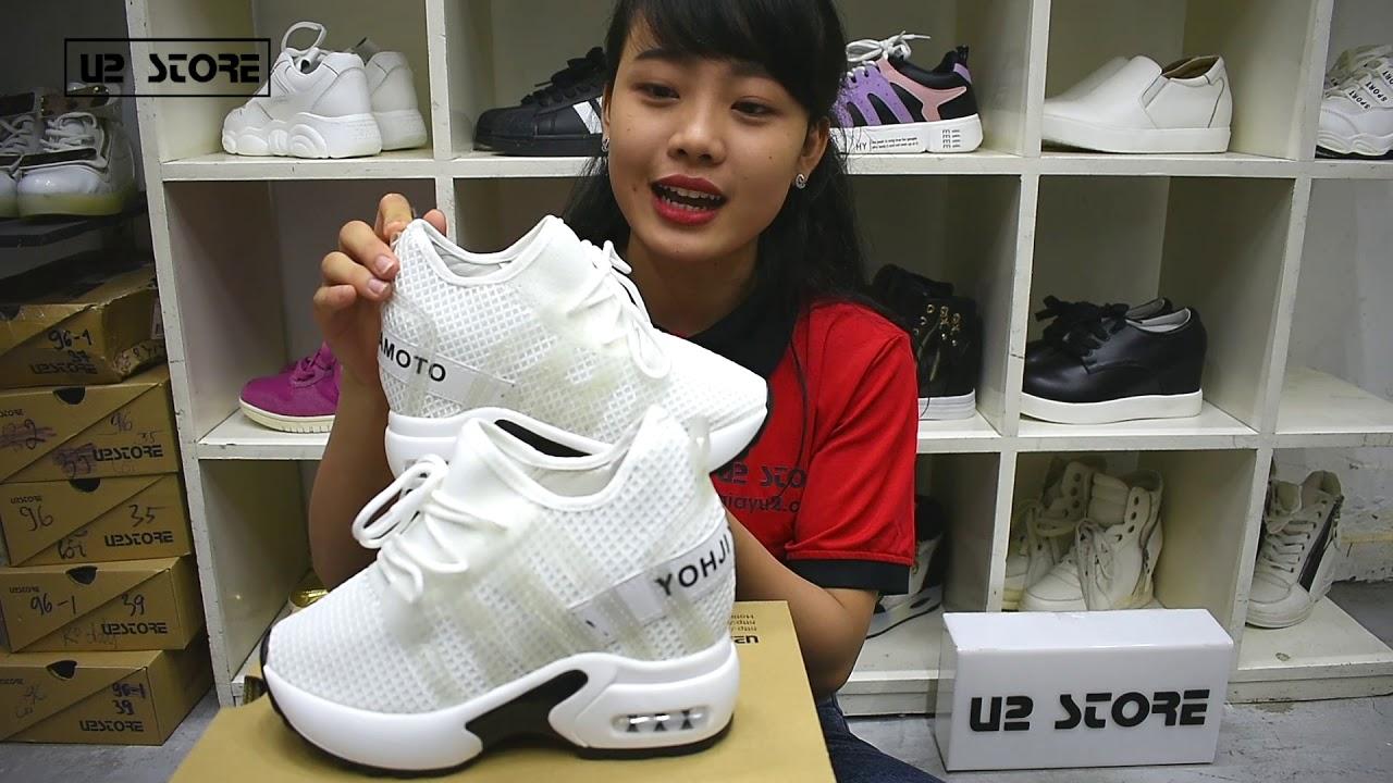 Giày tăng chiều cao nữ Gs96  2019 |giayu2.com