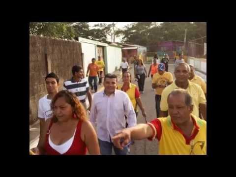 LA LUCHA CONTINUA!!. Luis Parra Rivero en Sector del Municipio Independencia/Yaracuy.