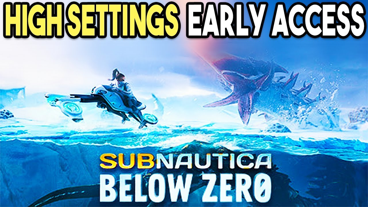 Subnautica Below Zero PC HIGH Settings 4K Gameplay Performance (GTX 1080  Early Access)
