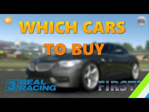 WHICH CARS TO BUY FIRST? REAL RACING 3 GARAGE TOUR