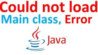 Could not find or load main class | solved java run time problem
