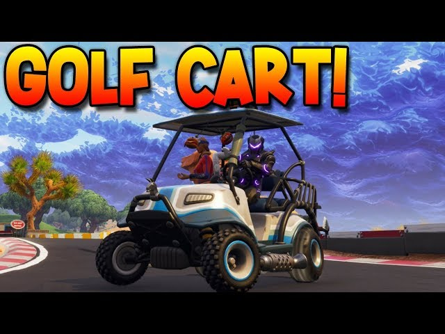 Fortnite Golf Cart Locations Drifting Tips And Tricks For Season 5 Inverse