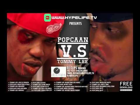 Popcaan V.S Tommy Lee Mixtape - Intro // DJ Clips // FREE DOWNLOAD!