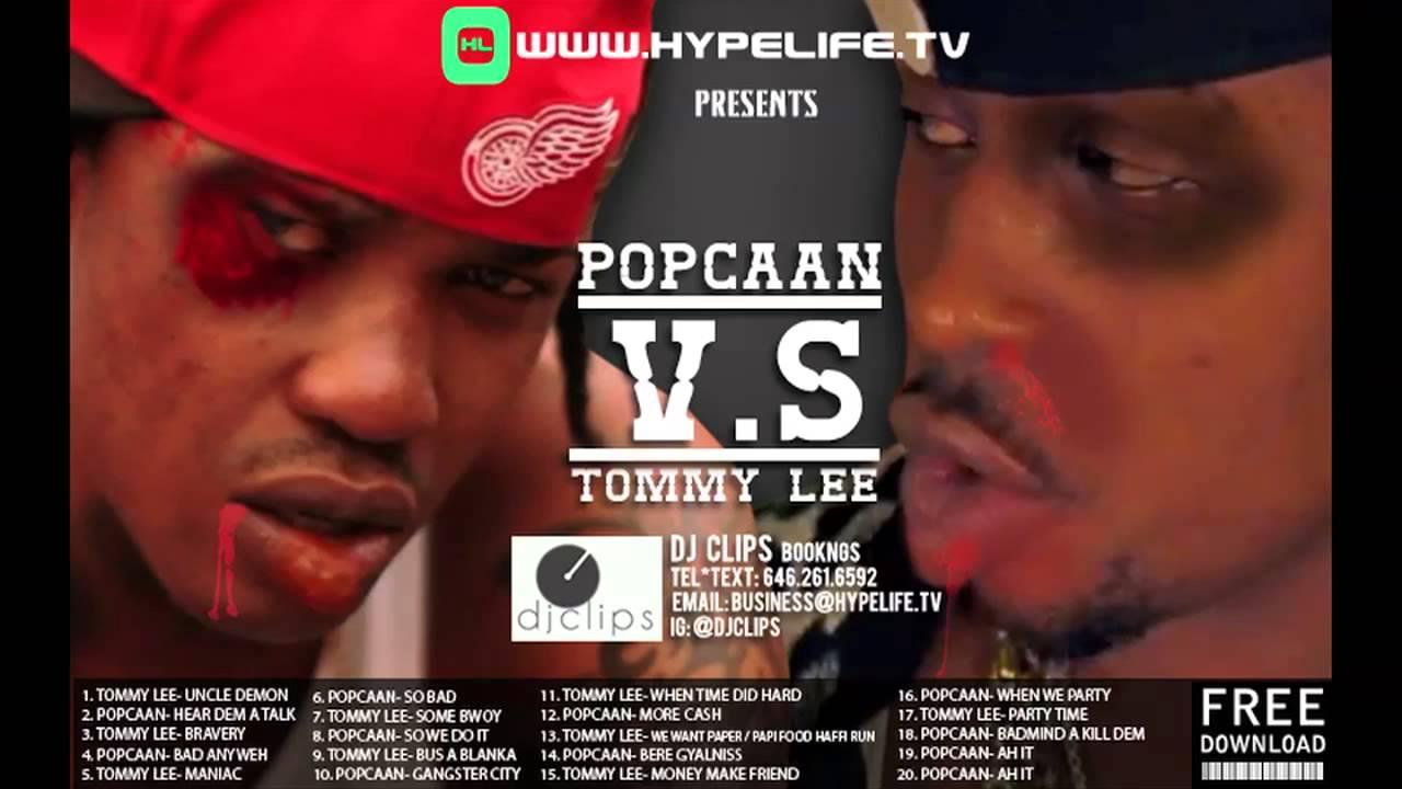 DJ LYTA - POPCAAN VS TOMMY LEE | DJ LYTA (WWW MIXCRATE COM