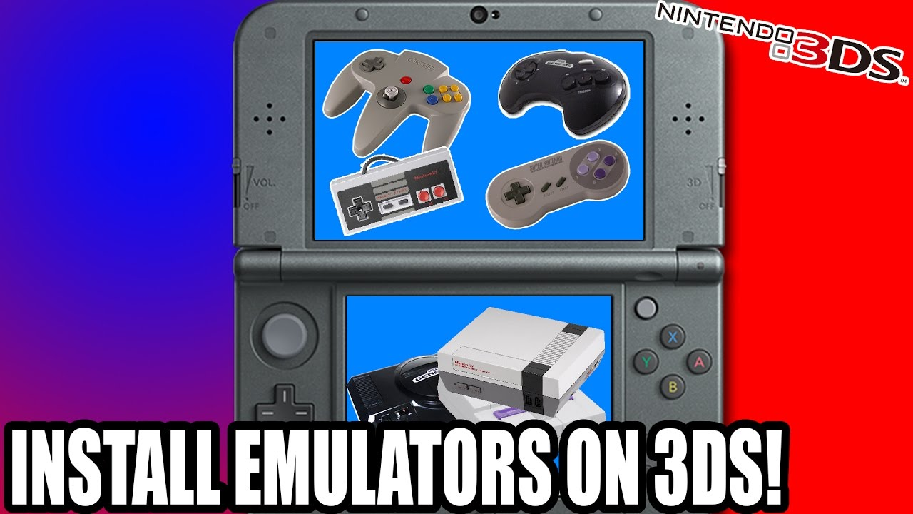 How to use Emulators (Injects) on Nintendo 3ds
