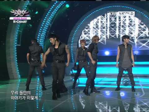[Music Bank K-Chart] 1st week of June & BEAST - FICTION (2011.06.03)