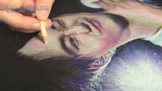 [Fan Art Process] Exo Kai - Colored Pencils