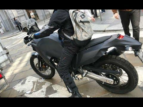 Yamaha Tenere  Prototype Spotted