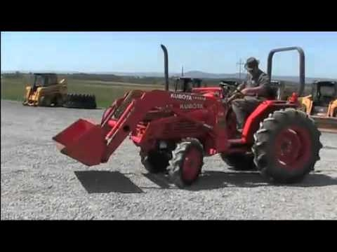 Kubota L Tractor 4x4