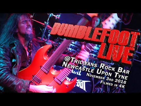 Bumblefoot Live in Newcastle - filmed in 4K!