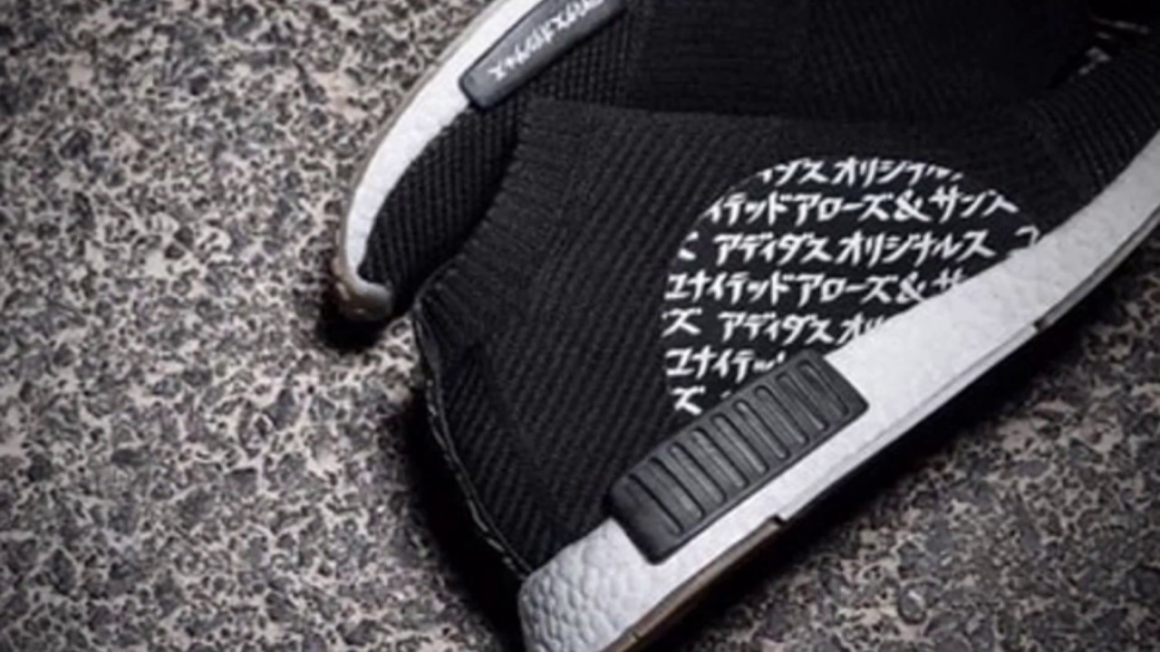 b9e7019db682d MIKITYPE X ADIDAS NMD CITY SOCK - YouTube