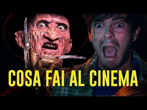 COSA FAI AL CINEMA - PARODIA FILM HORROR - iPantellas