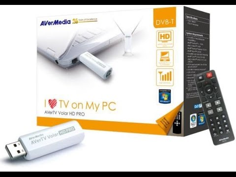 AverMedia A835 USB DVB-T Drivers for Windows 10