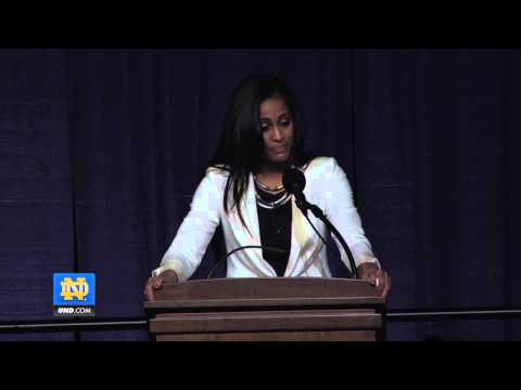 Skylar Diggins Senior Speech - Notre Dame Women's Basketball ...