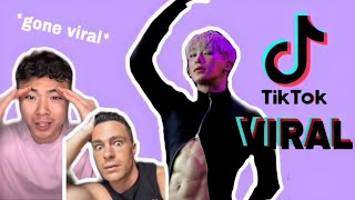 WONHO'S VIRAL TIKTOK Video Reactions (Compilation)
