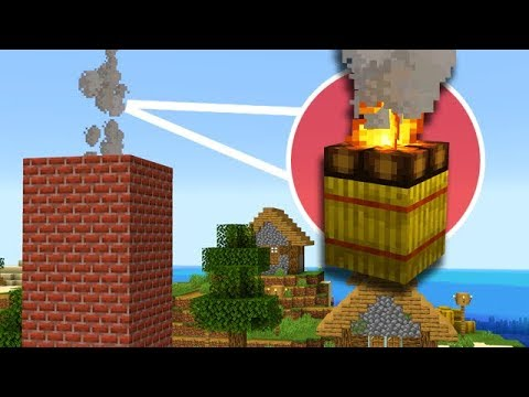 Minecraft: NEW Realistic Chimneys, Camp Fires, and More! thumbnail