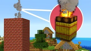 Minecraft: NEW Realistic Chimneys, Camp Fires, and More!
