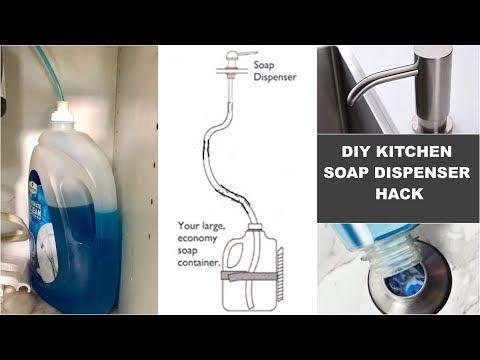 Diy Trick Out Your Sink Soap Dispenser