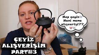 ÇEYİZ ALIŞVERİŞİM 3! | AKAYEV, ENGLISH HOME, VİCTORİNOX, TRENDYOL, A101, TRENDYOL, KARACA, TİAMO