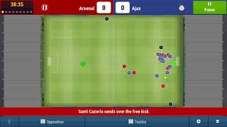 Game 10 l Arsenal Ajax in Europe l Football Manager l Arsenal Challenge