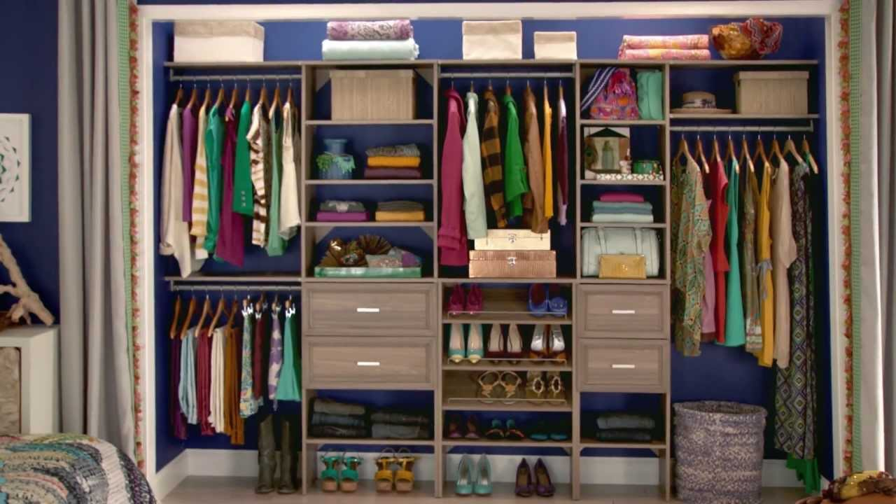 compartment storage pd gray at cubes lowes com closet laminate maid shop closetmaid