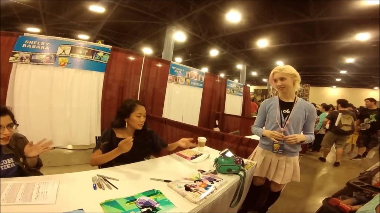 Steven Universe Shelby Rabara Peridot Meet And Greet Youtube