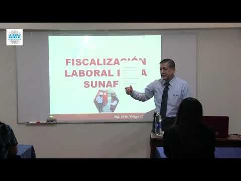 Fiscalización  Laboral De La SUNAFIL