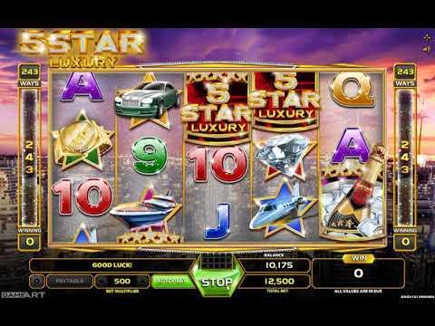 Video Slot 5 Star Luxury (GameArt)