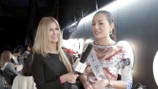 Miss Supranational 2015 - Day 4 Interviews at Warsaw Expo rehersals, part 1