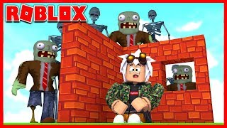 BUILD TO SURVIVE ROBLOX MONSTERS