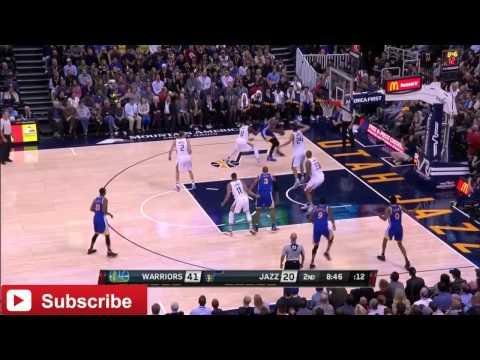NBA Dunks GOLDEN STATE VS UTAH JAZZ 2016-17 NBA season